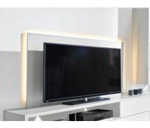 Arte M Chester Medien TV Paneel verschiedene  Größen Weiss Ultramatt