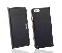 """Handyetui / Handyhülle """"club"""" aus hochwertigem Echtleder für das iPhone 6 (S) schwarz"""