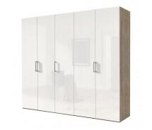 Express Möbel Drehtürenschrank Brooklyn, hochglanz Front,100 cm bis 300 cm, Höhe 216 cm oder Höhe 236 cm