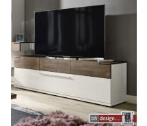 Arte M TV-Element Feel Weiss oder Cubanit/Eiche massiv in 180 x 56 cm