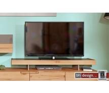 Arte M TV Aufsatz Feel Weiss oder Cubanit/Eiche massiv in 120 x 18 cm