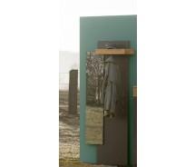 Arte M  Feel Garderobenpanel mit Spiegel 200 x 60 x 30 cm, verschiede Farben