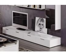 Arte M TV-Element Game Weiss 240 cm x 24,5 cm