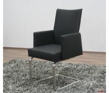 """Arte M Freischwinger Stuhl """"Set"""" mit Armlehne in verschiedenen Farben"""