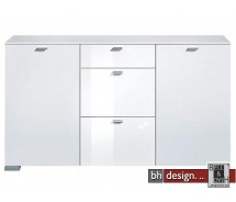 Arte M Sideboard Gallery Weiss/Weiss HG  150 x 84 x 42 cm
