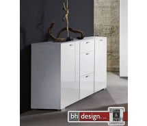 Arte M Sideboard Gallery HG Weiss/Weiss 150 x 84 x 42 cm