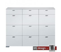 Arte M Highboard Gallery Weiss 150 x 116 cm