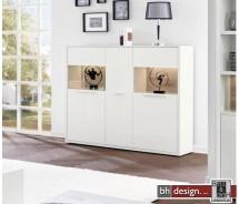 Arte M Highboard Gamble,  3 Türen, 9 Fachböden 161 x 135 cm in verschiedenen Farben