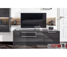 Arte M TV Element Gamble, 1 Tür, 1 Schubkasten, Klappe 181 x 55 x 45 cm verschiedene Farben