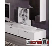 Arte M TV-Element Game Weiss 120 cm x 24,5 cm