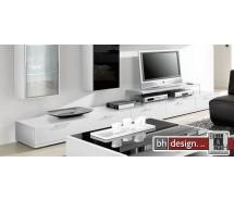 Arte M TV-Element Game Plus Hochglanz Weiss 300 cm x 24,5 cm