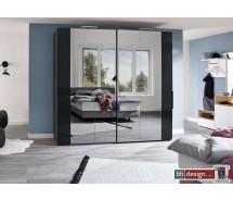 Arte M Schiebetürenschrank get-in drive, div. Größen, Front Spiegel mit Absetzung, Höhe 216 cm, alternativ 236 cm