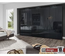 Arte M Drehtürenschrank get-in drop verschiedene Größen,  Front Glas  , Höhe  216 cm, alternativ 236 cm