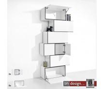 """Just a Box Wohnkombination Modell """"Pisa"""" by NOOBEEASS 112,5 x 225 x 39 cm in verschiedenen Varianten"""