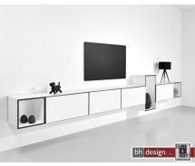 "Just a Box Wohnkombination Modell ""tv-room"" by NOOBEEASS 312,5 x variabel x 39 cm in verschiedenen Varianten"