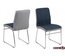 Hit Designstuhl in 3 verschiedenen Farben Corsica Stoff