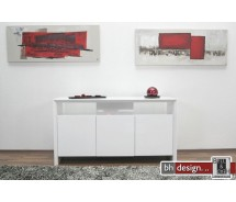 Solei Sideboard  hochglanz weiss 150 cm