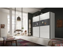 Express Möbel Schwebetürenschrank MAGNETIC,  mit magnetischen Motivdruck, Höhe  216 cm