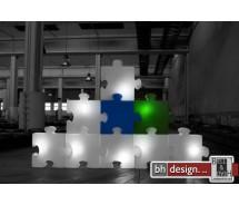 P.O.P. Designer Raumteiler beleuchtet