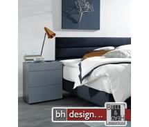 Arte M  Nachtkonsole Pure verschiedene Materialvarianten/Farbvarianten 50 x  H 66 cm , 3 Schubkästen