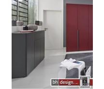 Arte M Plus Kommode Pure verschiedene Materialvarianten/Farbvarianten 150 x 104 cm 3 Türen, 1 Schubkasten