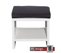 Arte M Sitztopper für Bank Game in schwarz oder weiss wählbar 120 cm