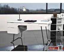 Terri Schreibtisch hochglanz weiss 140 x 70 cm