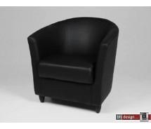 Tub II Designclubsessel schwarz