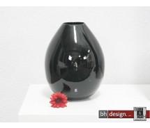 Spizy Vase Rund schwarz H 31 cm
