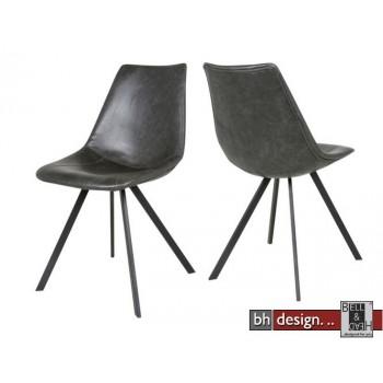 Zobel  Designstuhl by Canett Design im Vintage Look schwarz