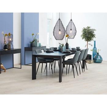 Oksna Esstisch / Konferenztisch ausziehbar by Canett Design, Eiche schwarz gebeizt ab 220 cm bis 370 cm
