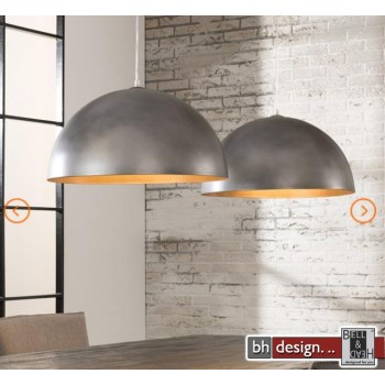 Industrie Line Hängelampe 2-er Set  Metall shabby look 124 x  H 150 cm