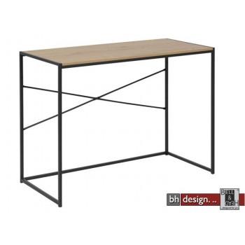 Schreibtisch Computertisch Seaford, Wildeiche Melamin, 100 x 45 x H 75 cm