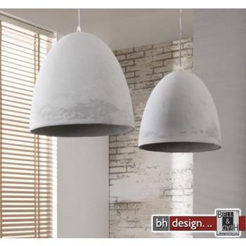 Stone Line Hängelampe 2-er Set  mit Beton Tasse  Lampenschirm 112 x  H 150 cm