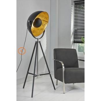 Studio Line Strahler mit 3 Fuß Gestell höhenverstellbar weiss, alternativ schwarz  H 160 - 170 cm x 70 cm