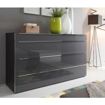Nolte Möbel Alegro Style , 160  x 104 cm, 4 Glasschubkästen, in verschiedenen Farben