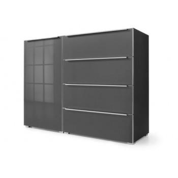 Nolte Möbel Sidebard Alegro2 Style, 140  x 104 cm, 4 Schubkästen, 1 Tür , verschiedene Farben