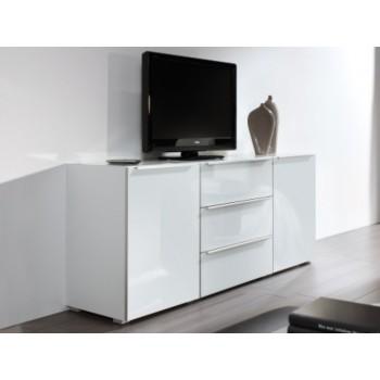 Nolte Möbel Sideboard Alegro Style, 180  x 104 cm, 4 Glasschubkästen, 2 Türen, verschiedene Farben