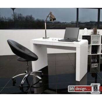 Cana Schreibtisch weiss hochglanz lackiert 120 x 50 cm