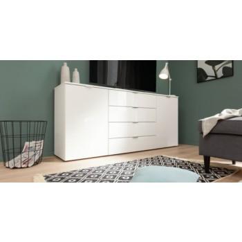Express Möbel Sideboard Carina , 2 Türen 4 Schubkästen, verschiedene Farbvarianten B 180 cm x H 80 cm