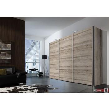 Express Möbel Schwebetürenschrank FOUR YOU, 150 cm bis 300 cm , Höhe 216 cm oder Höhe 236 cm