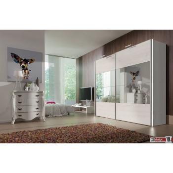 Express Möbel Schwebetürenschrank FOUR YOU, Siegeleinsatz, 150 cm bis 300 cm , Höhe 216 cm oder Höhe 236 cm