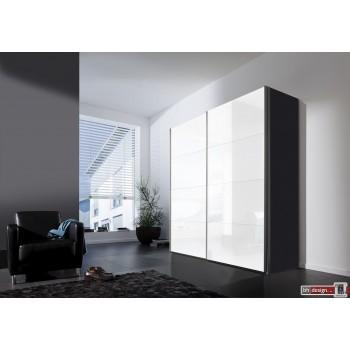Express Möbel Schwebetürenschrank FOUR YOU, Lackfront weiss, 150 cm bis 300 cm , Höhe 216 cm oder Höhe 236 cm