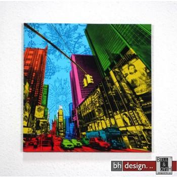 "Bild ""American City 1"" 40 x 40 cm"