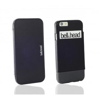 """Echtleder Hülle """"jump"""" für iPhone 6 (S) / iPhone 6 (S) Plus und Galaxy S6 (edge und edge+) schwarz-grau"""