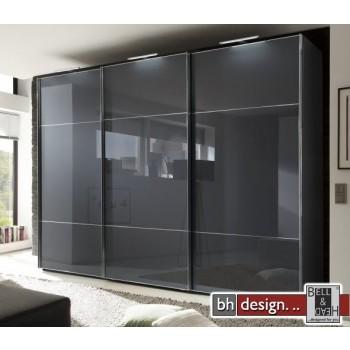 Nolte Möbel Schwebetürenschrank Marcato , diverse Größen, 3 Feld Front in Glas , Höhe  223 cm