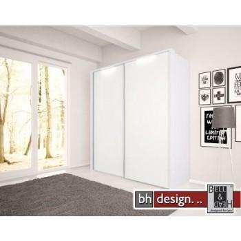 Nolte Möbel Schwebetürenschrank Marcato , diverse Größen,  Front in Glas , Höhe  223 cm