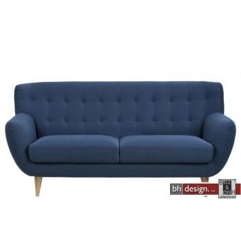 Oswald Retro Sofa 3-Sitzer in 2 Farbvarianten