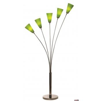 Stehleuchte Tulip by Danalight , verschiedene Farben, 5 Schirme