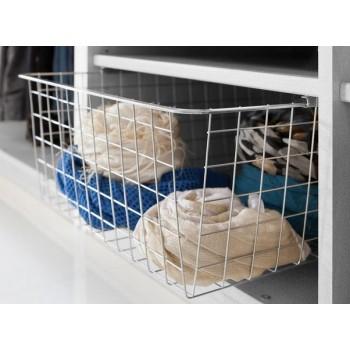 De Lux Wäschekorb ausziehbar 43 x 19 cm  für Express Schwebetürenchrank